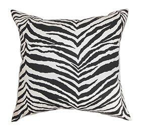 Animal print pillow mix and match patterns
