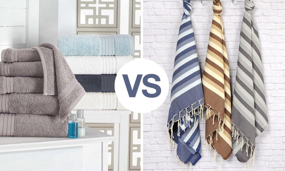 bath towels vs beach towels