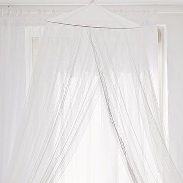 Attach the bed canopy