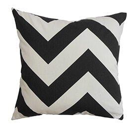 Chevron pillow mix and match patterns