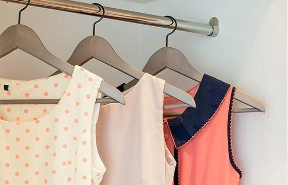 Coat hangers perfect for home storage ideas