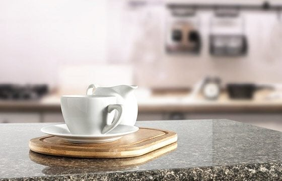 Granite countertop coffee bar ideas