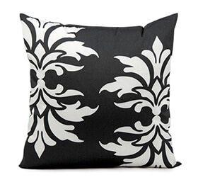 damask pillow mix and match patterns