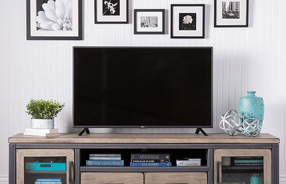Entertainment center home storage solutions