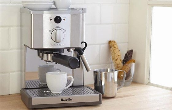 Espresso machine coffee bar ideas