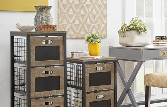 Filing cabinet home storage solutions