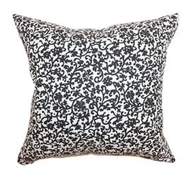 Floral pillow mix and match patterns
