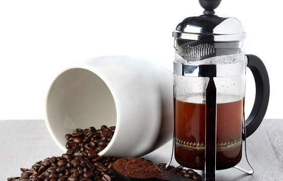 French press coffee bar ideas