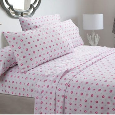 Girls' sheets for cute girls' bedding