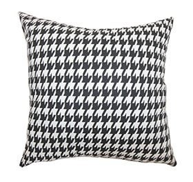 Houndstooth pillow mix and match patterns