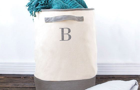 Laundry hamper home storage solutions