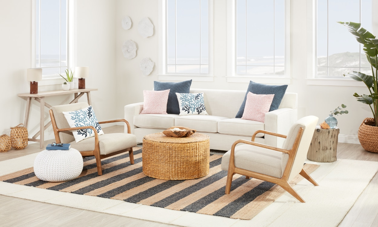 Beautiful Coastal Furniture & Decor Ideas  Overstock.com