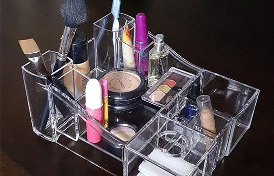 Makeup & Toiletry Organizer home storage solutions