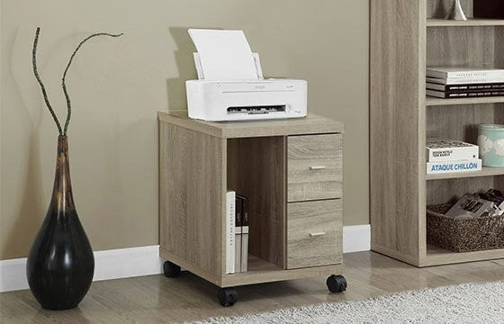 Printer stand home storage solutions
