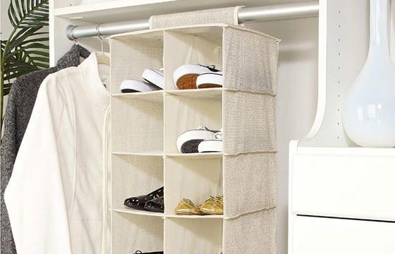 Shoe rack home storage solutions