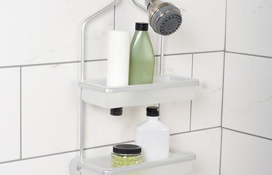 Shower rack home storage solutions