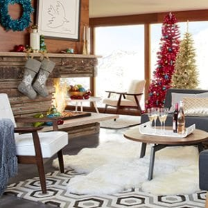 Mid Century Modern Christmas Decor Ideas