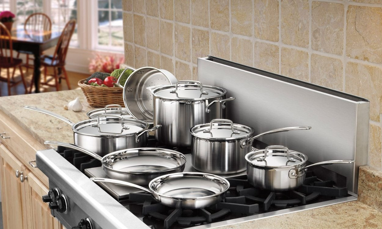 How to Break in a Stainless Steel Frying Pan - Overstock com