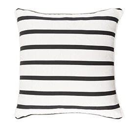 Striped pillow mix and match patterns