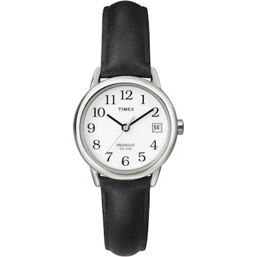 Timex water resistant watch with black band