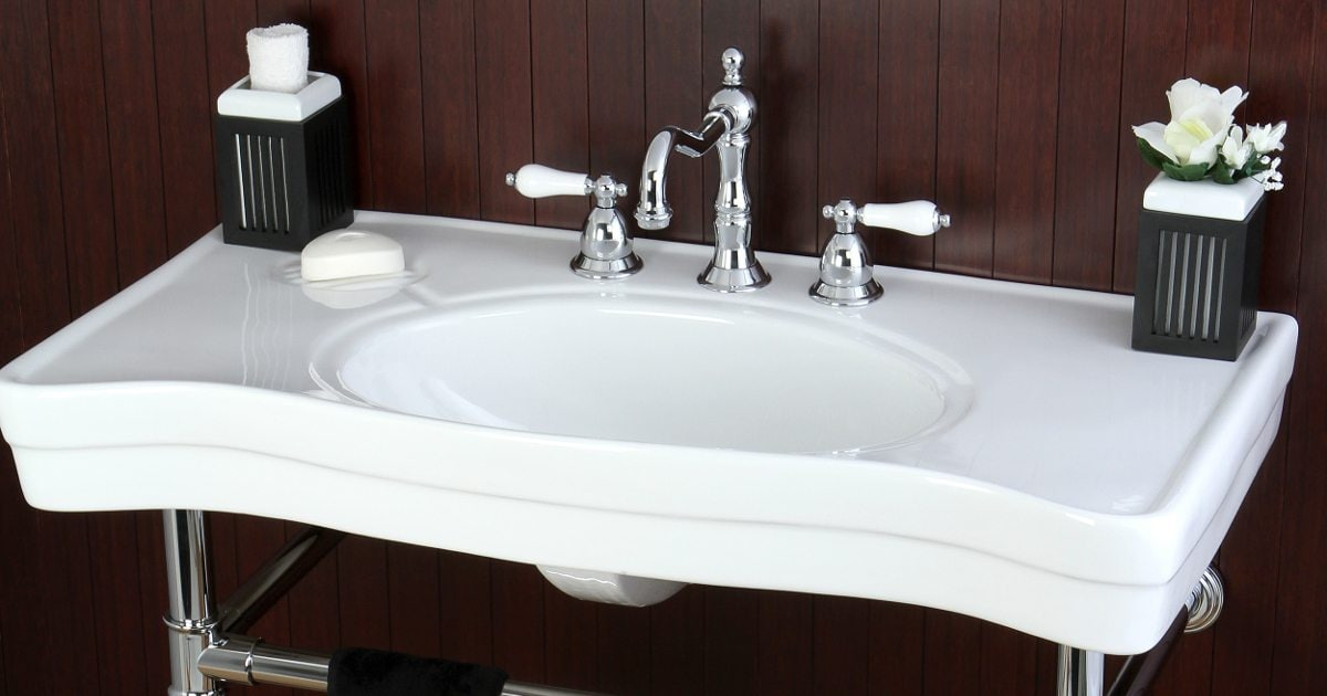 How to Remove a Bathroom Sink - Overstock com Tips & Ideas