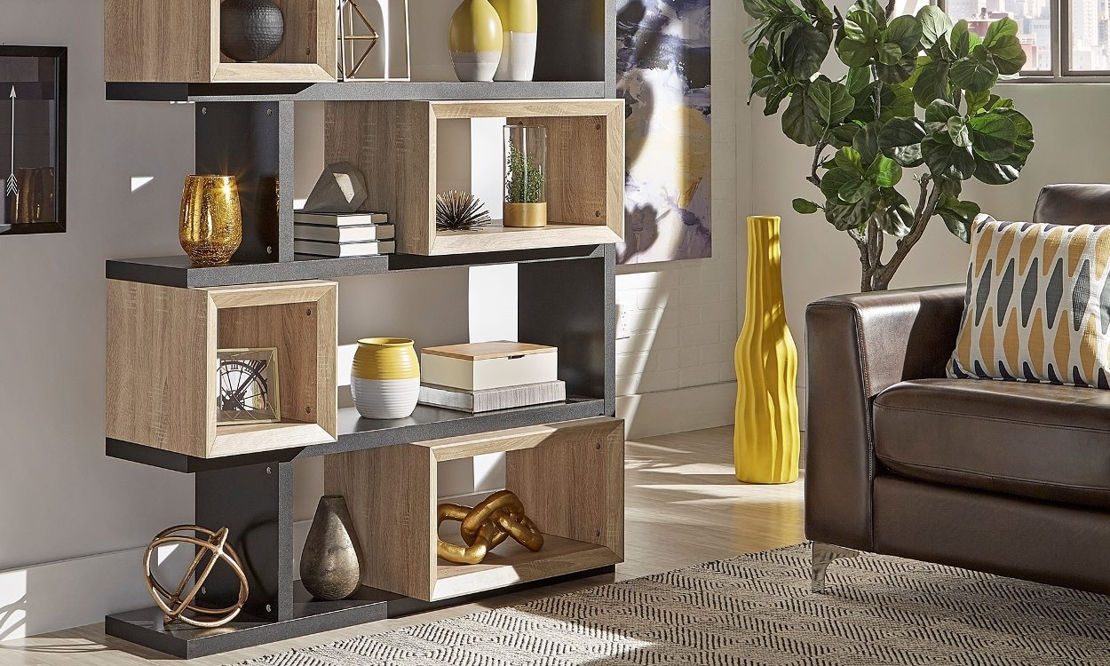 the best materials for a stylish bookshelf overstock com