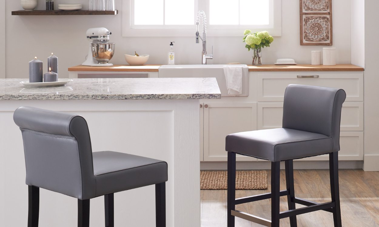 The 3 Best Counter Stool Upholstery Materials - Overstock.com