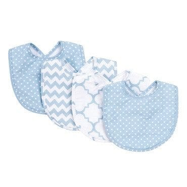 A set of bibs, the perfect stocking stuffer idea for babies & toddlers