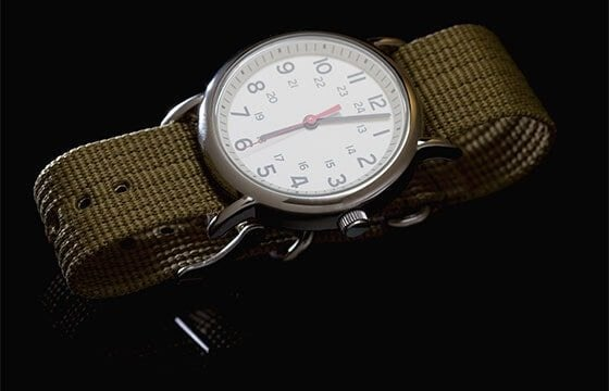 men's canvas watch guide to men's watches