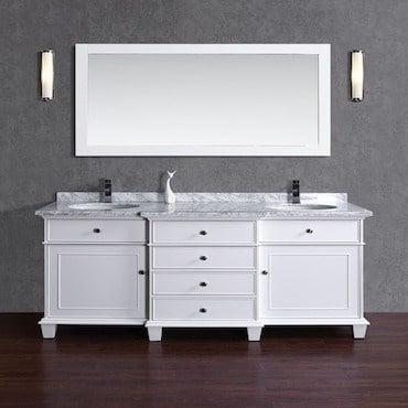 Double Basin Contemporary Bath Vanity