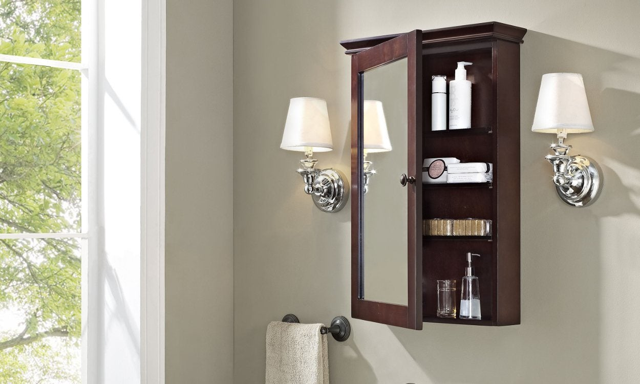 How to Install a Bathroom Cabinet
