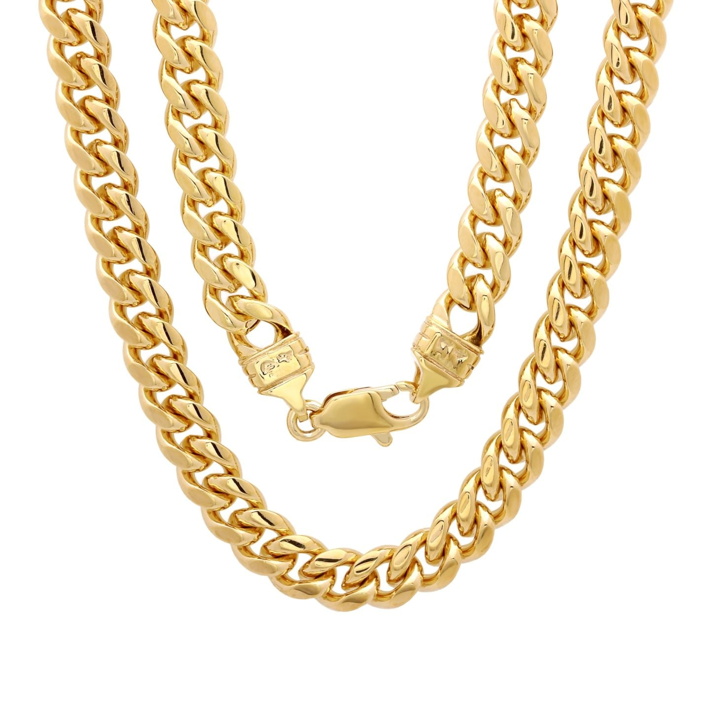 Long Gold Chain Necklace Jewelry Ideas for Men for Christmas