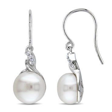 Pearl earring jewelry gifts for her for Christmas