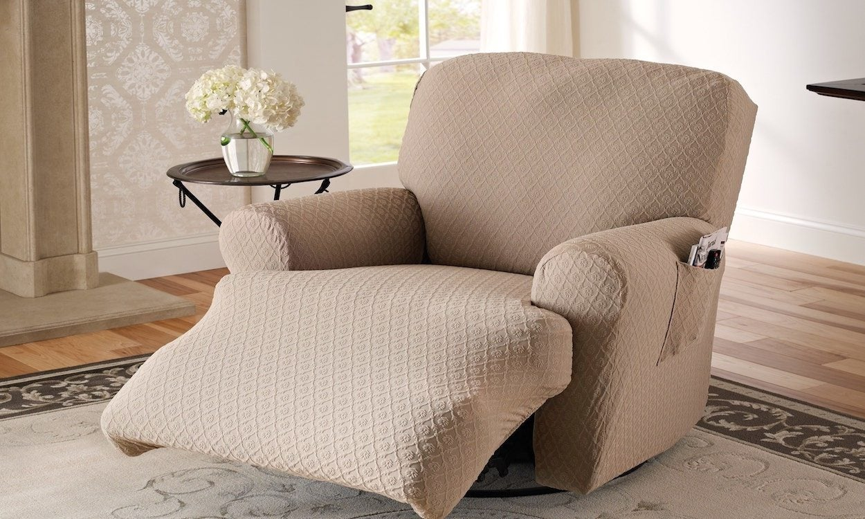 Astounding How To Measure A Recliner For A Slipcover Overstock Com Ibusinesslaw Wood Chair Design Ideas Ibusinesslaworg