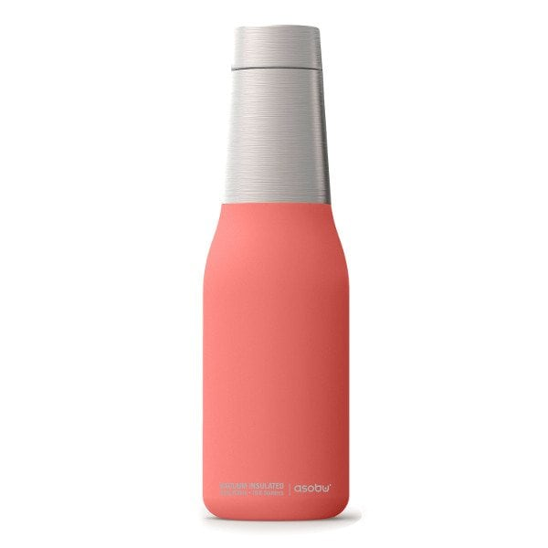 coral silicone vaccum seal stainless steel water bottle stocking stuffer ideas for her