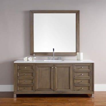 Wood Contemporary Bath Vanity