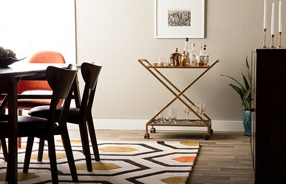 Trend Alert Mid Century Modern Furniture And Decor Ideas - Flooring-for-dining-room