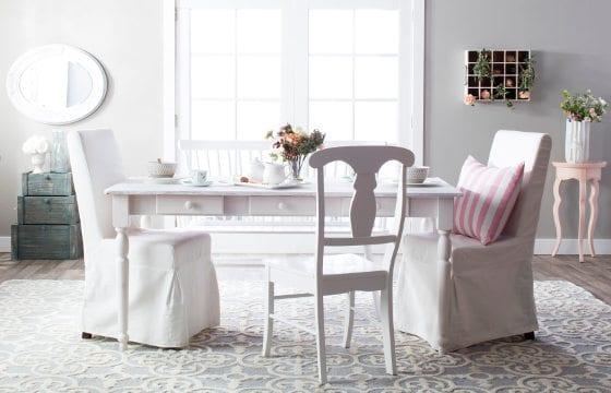 Shabby Chic Dining Room: Beautiful Shabby Chic Furniture & Decor Ideas