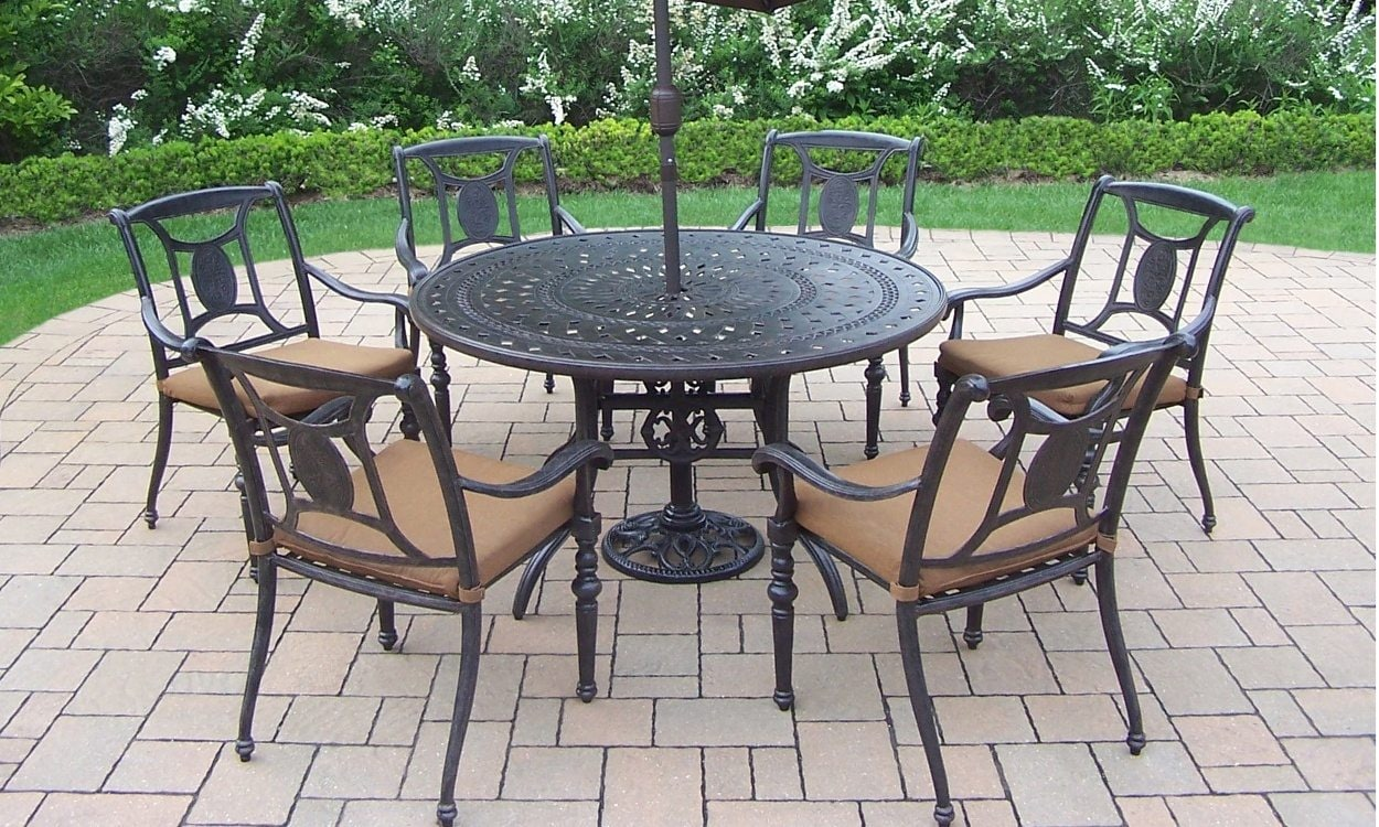 How to clean wrought iron patio furniture