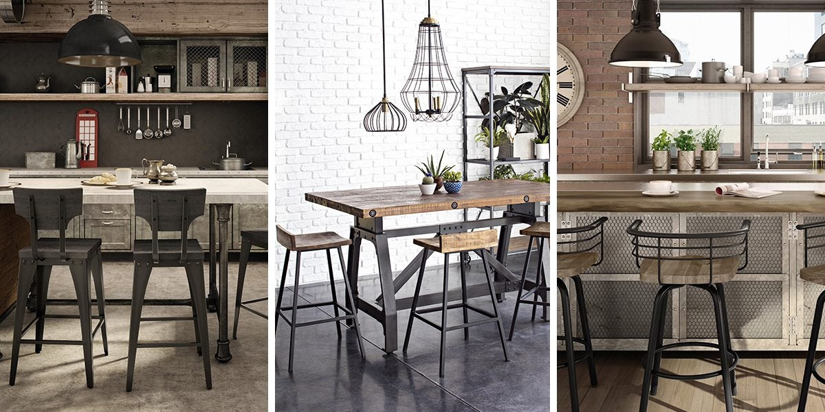 Industrial Kitchen u0026 Dining Room Ideas & Industrial Furniture u0026 Decor Ideas for Your Home | Overstock.com