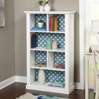 A kids' storage bookshelf, a perfect peice of kids furniture