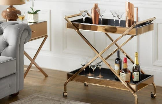 Glam Bar Cart