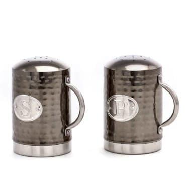 Black Salt and Pepper Shakers