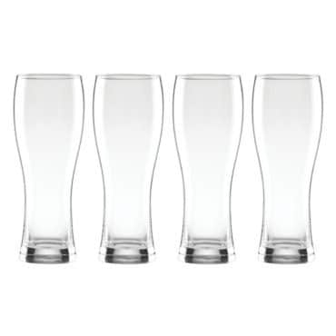 A set of beer glasses, the perfect gift to get a guy this Christmas