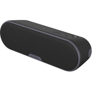 Black Bluetooth speaker, the perfect gift to give your girlfriend this Christmas