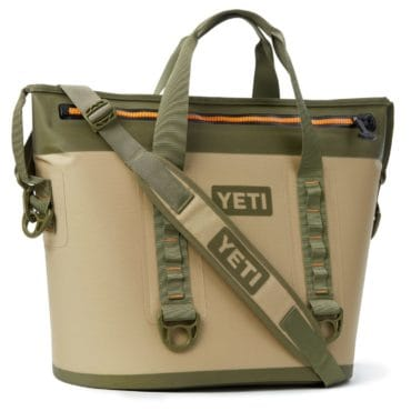 Yeti cooler, the perfect camping & hiking supplies to get a guy for Christmas