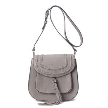 A grey crossbody handbag, a perfect christmas gift for your sister
