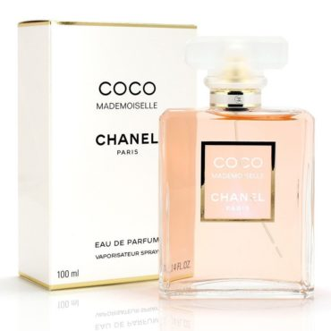 A coco Chanel perfume, a great romantic christmas gift idea for her