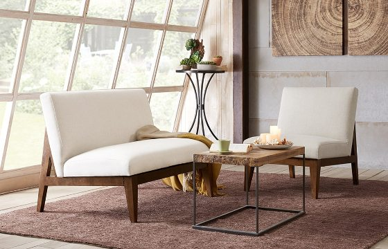 A white sectional sofa under $500