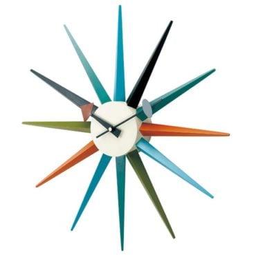 Mid-century modern sputnik clock, the perfect Mid-Century modern gift idea for Christmas